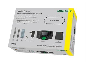 """Minitrix T11100 Startpackung """"digitaler Einsteig"""" N"""