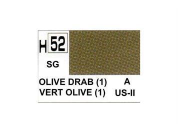 Mr. Hobby (Gunze Sangyo) H-052 olivgrün (1) halbmatt