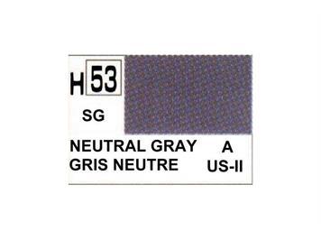 Mr. Hobby (Gunze Sangyo) H-053 neutrales grau halbmatt