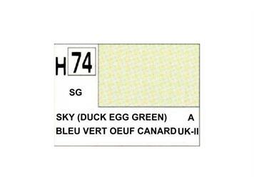 Mr. Hobby (Gunze Sangyo) H-074 himmel (enteneier grün)