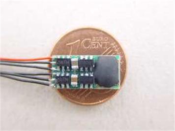 Müt Digirail Fahrzeug Decoder DHL-050 Micro N