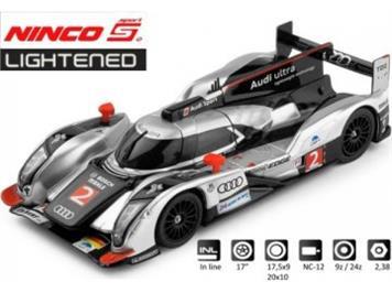 Ninco 50612 Audi R18 Le Mans Winner 2011 Lightenend