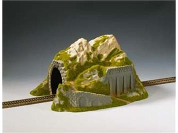 NOCH 02221 Tunnel, 1-gleisig, gerade, 34 x 25 x 19 cm