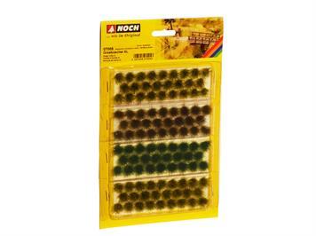 NOCH 07005 Grasbüschel XL beige-grün, dunkelgrün braun