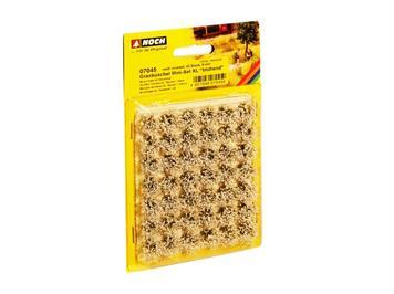 Noch 07045 Mini-Set XL Grasbüschel blühend weiss veredelt
