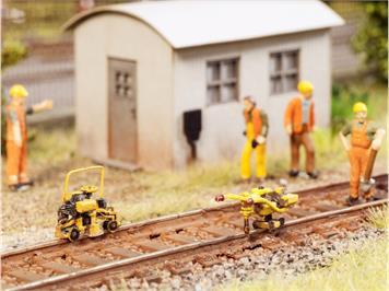 Noch 13641 3D minis Gleisbauarbeits-Set HO