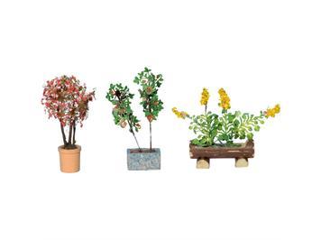 Noch 14014 Zierpflanzen in Blumentöpfen HO