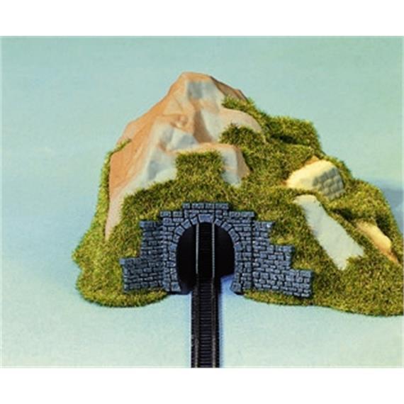 NOCH 44420 Tunnel-Portal, 1-gl. 2 Stück, 9x4 cm Spur Z