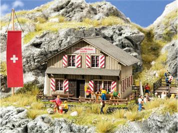 Noch 65800 LaserCut Bergrestaurant Grosser Mythen HO