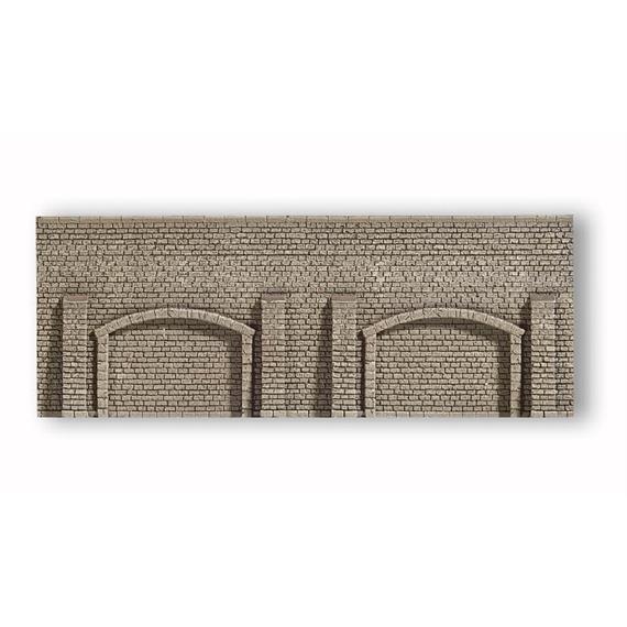 NOCH Arkadenmauer Sandstein, 19,8 x 7,4 cm Spur N