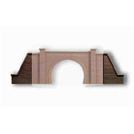 Noch Flügelmauern für Tunnel-Portal 2gl. HO