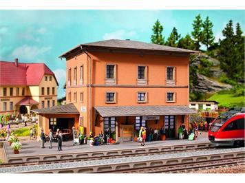 Noch Laser-Cut Bahnhof Tannau (Berg) HO
