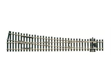 Peco SL-E188 Weiche rechts grosser Radius Cd 75 electrofrog