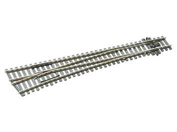 Peco SL-E89 Weiche links grosser Radius Cd100 electrofrog