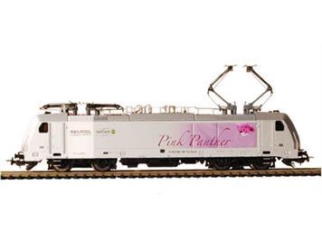 """PIKO 97722 Elektrolok BR 186 RAILPOOL """"Pink Panther"""" DC"""