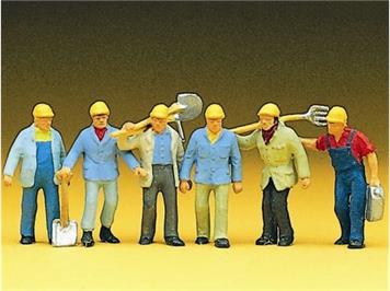 Preiser 10033 Gleisbauarbeiter HO