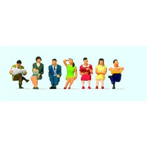 Preiser 10573 Sitzende Reisende (China) HO