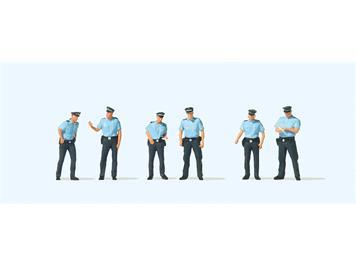 Preiser 10743 Polizei Sommeruniform, Deutschland, H0