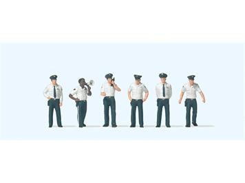 Preiser 10797 US City Police, H0