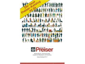 Preiser 2018/1 Hauptkatalog Figuren deutsch