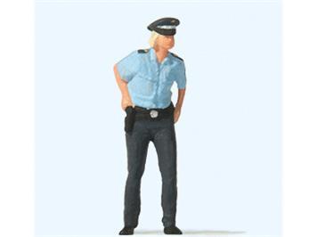 Preiser 28237 Polizistin, H0
