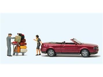 "Preiser 33256 Audi Cabrio ""Das muss passen"""