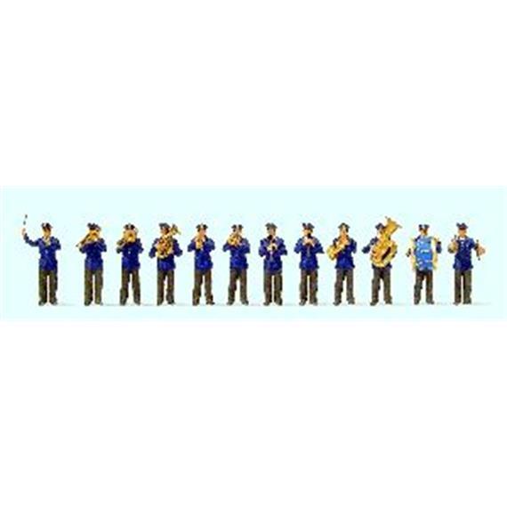 Preiser Musikkapelle DB (12 Figuren) HO