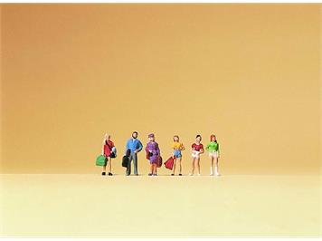 Preiser - Reisende Teenager