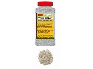 Proses BAL-N-01 1 Kg echter Kalkstein-Schotter N (Hellgrau)