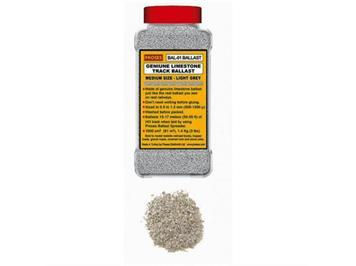 Proses BAL-N-02 1 Kg echter Kalkstein-Schotter N (Mittelgrau)