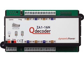 Qdecoder QD111 Standart Magnetweichendecoder Qdecoder ZA1-16N