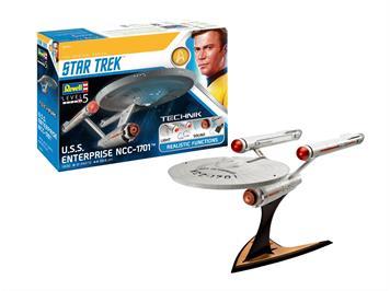 Revell 00454 USS Enterprise NCC-1701 (Star Trek), Massstab 1:600