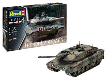 Revell 03281 Leopard 2A6/A6NL, Massstab 1:35