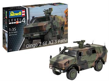 Revell 03284 Dingo 2 GE A2.3 PatSi, Massstab 1:35