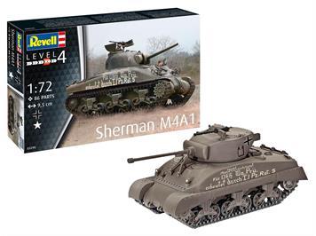 Revell 03290 Sherman M4A1, Maßstab: 1:72