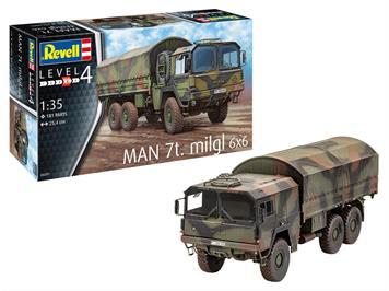 Revell 03291 MAN 7t Milgl, Maßstab 1:35