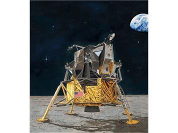 Revell 03701 Apollo 11 Lunar Module Eagle (50 Y. Moon Landing) 1:48