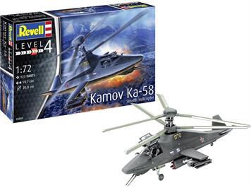 Revell 03889 Kamov Ka-58 Stealth, 1:72