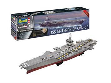 Revell 05173 USS Enterprise CVN-65, Maßstab: 1:400