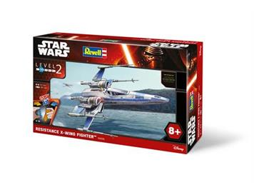 Revell 06696 Star Wars easykit Resistance X-wing Fighter