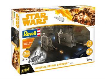 """Revell 06768 STAR WARS """"Imperial Patrol Speeder"""" mit Sound"""