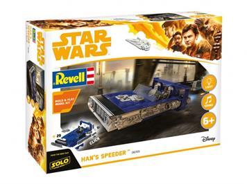 """Revell 06769 STAR WARS """"Han's Speeder"""" mit Licht und Sound"""