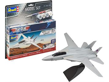 Revell 64966 Model Set - Maverick's F-14 Tomcat 'Top Gun' easy-click