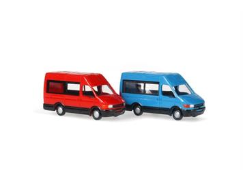 Rietze 16069 Iveco Daily Bus (2 Stk.)