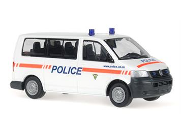 """Rietze VW T5 """"Police Vaud""""-CH 1:87/HO"""