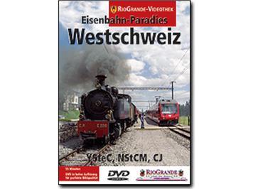 RioGrande DVD 7033 - Eisenbahn-Paradies Westschweiz
