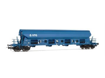 Rivarossi 6198 Hopper Wagon VTG 4-achsig Tadgs blau