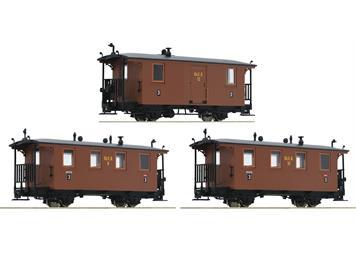 Roco 34043 RüKB Wagen braun (3) HOe