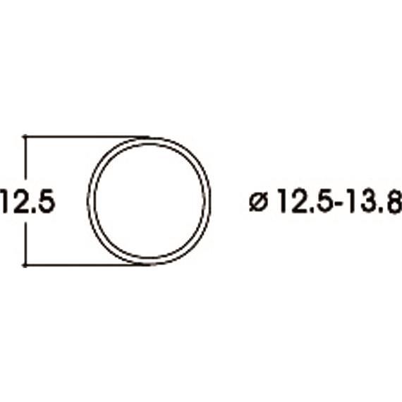 Roco 40066 Haftringsatz DC 12,5 - 13,8 mm (10 Stk.), H0