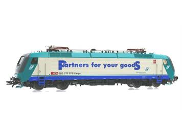 "Roco 43824 FS Ellok E 412 ""Partner for goods"""